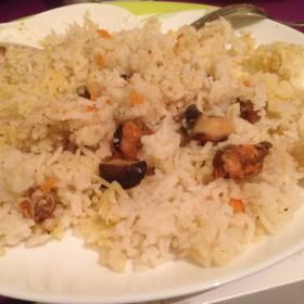Суп с рисовой лапшей и говядиной