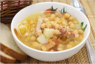 Сырный суп - рецепт с фото